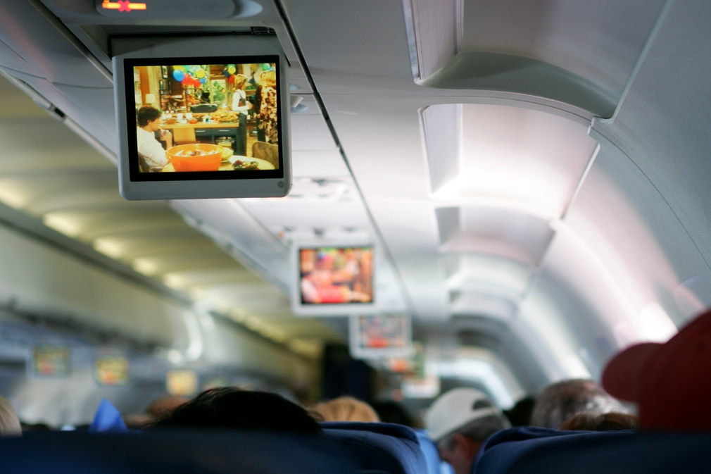 EgyptAir in-flight TV