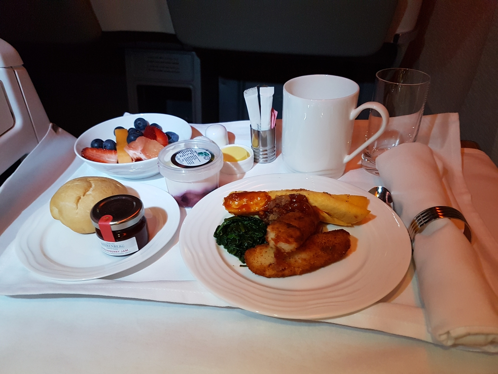 Emirates breakfast