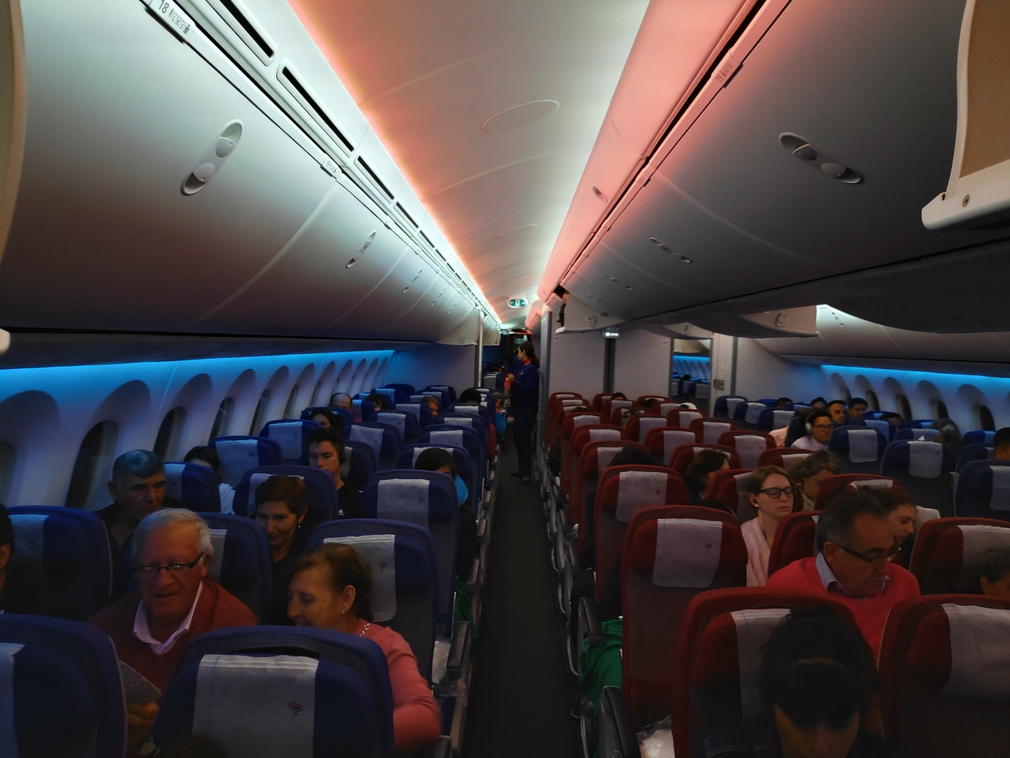 LATAM Economy cabin