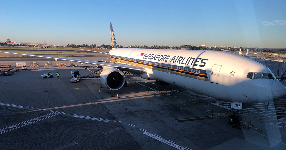 Flight Review Singapore Airlines New Business Class