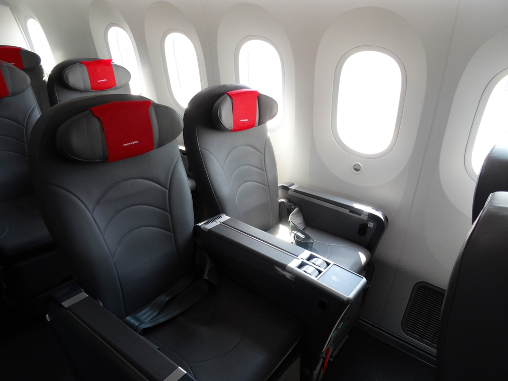 Norwegian Airlines Seat