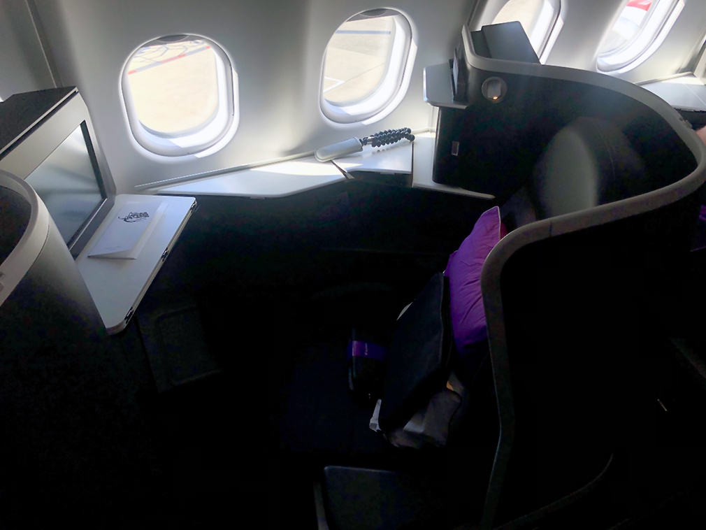 Seat 2K in Virgin Australia Business Class