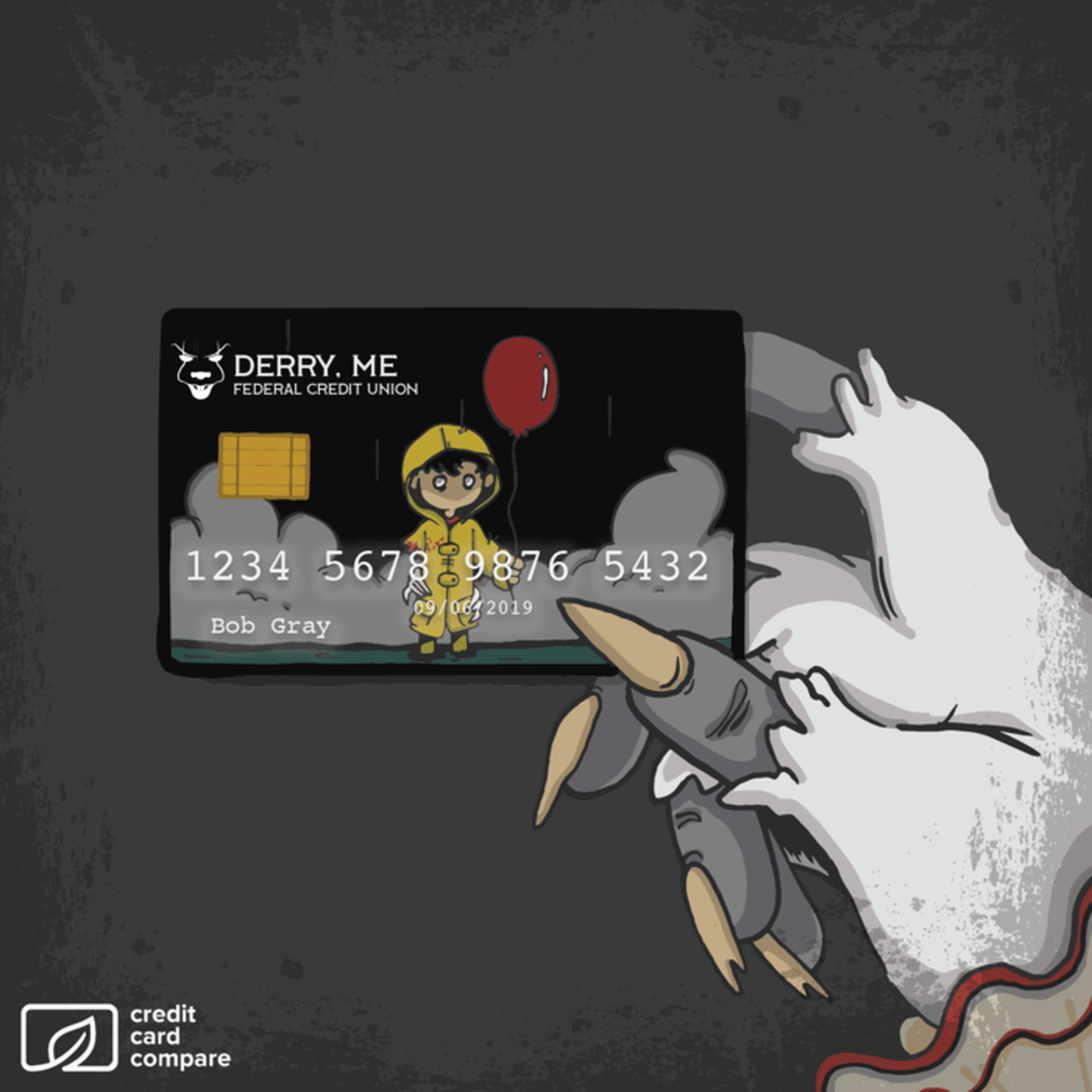 Stephen King's IT Pennywise credit card
