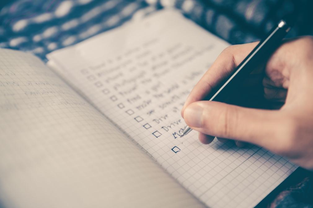 checklist of minimum criteria