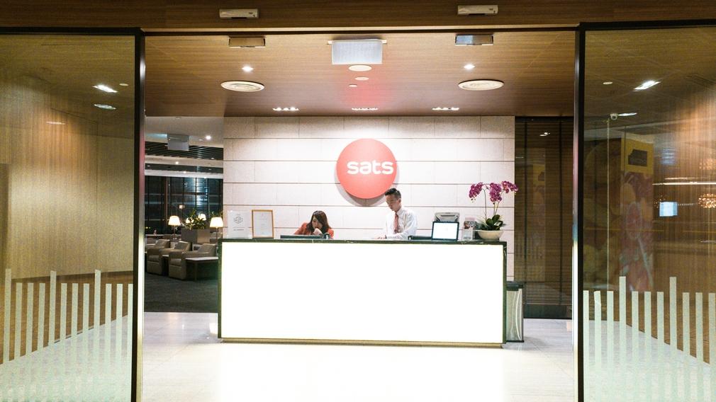 SAT's Premier Lounge at Changi Terminal 2