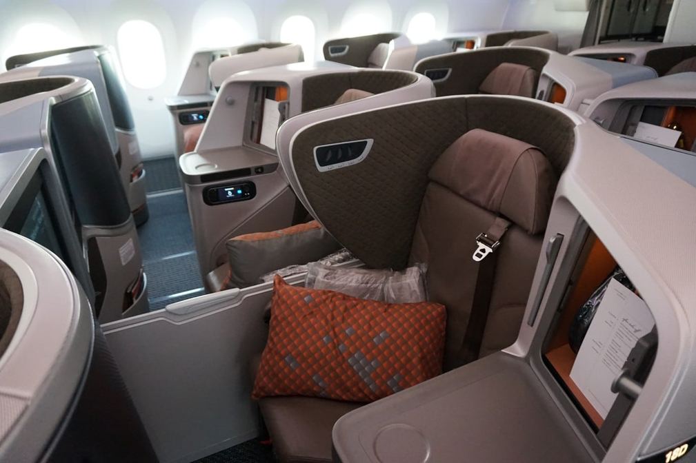 Singapore Airlines Business Class new