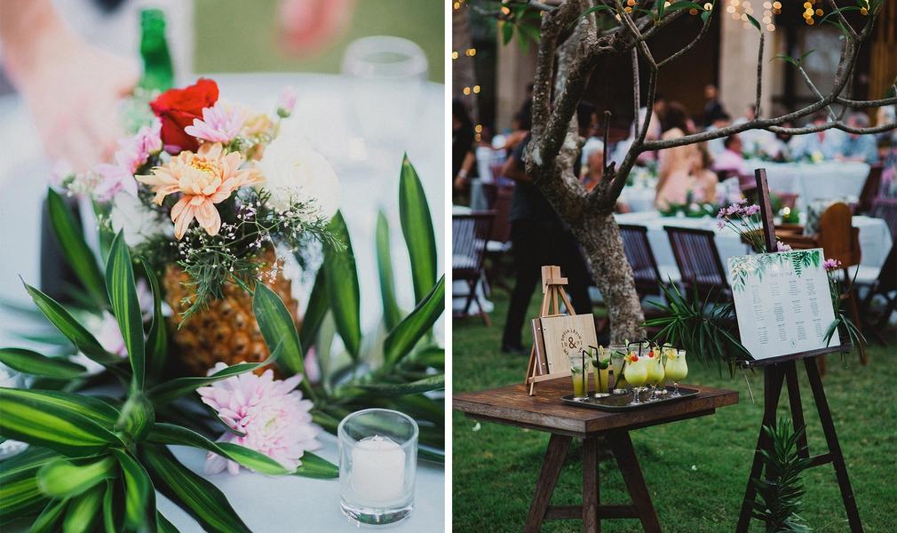 Bali wedding decorations