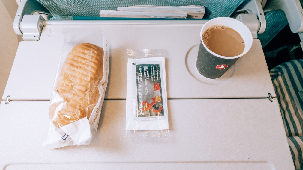 Turkish Airlines small meal