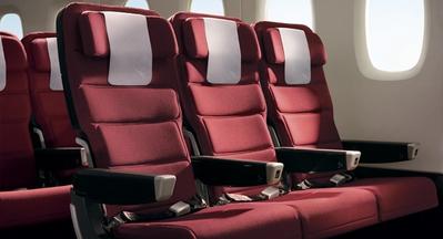 Qantas international economy seat
