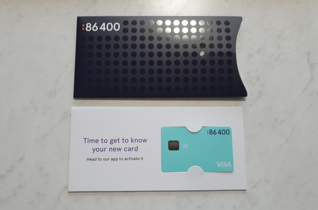 86400 card and package