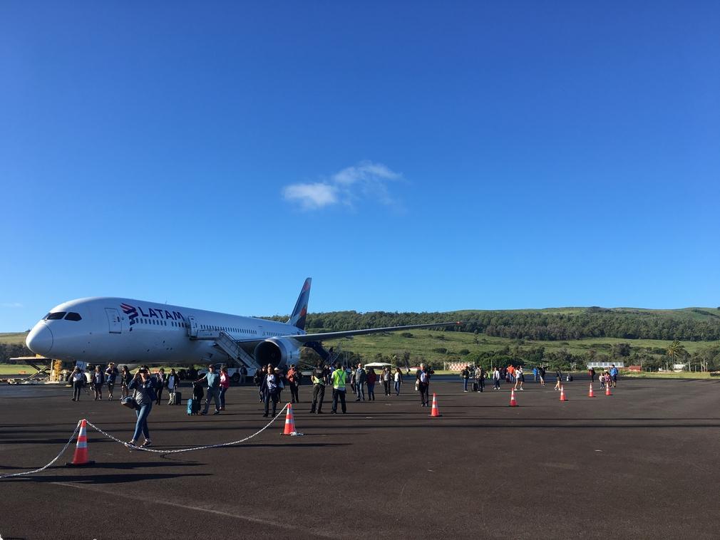 Easter Island runway