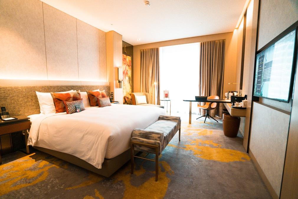 Sofitel Singapore Bedroom
