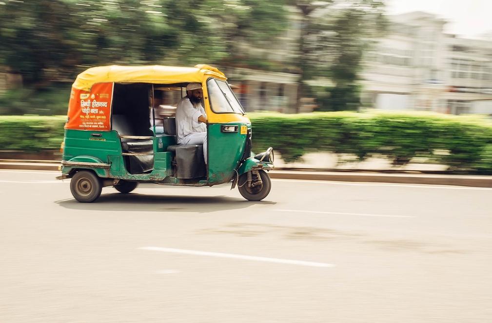 New Delhi taxi
