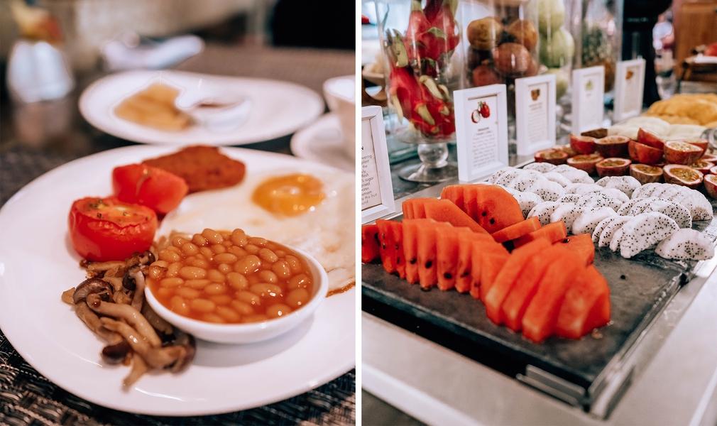 Hotel de l'Opera food choices