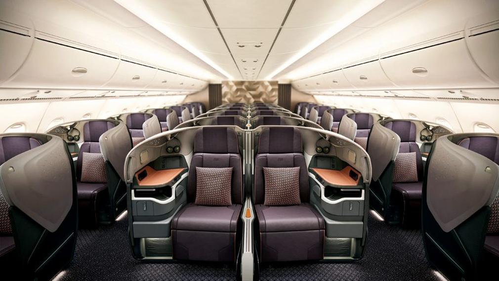 Krisflyer Business Class seats