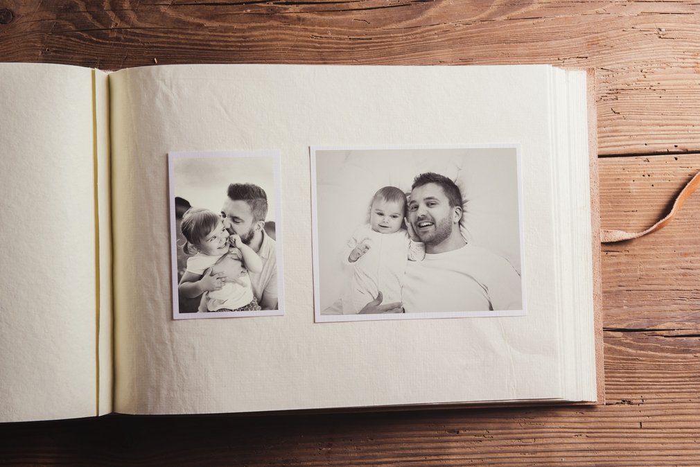 Father's Day scrapbook
