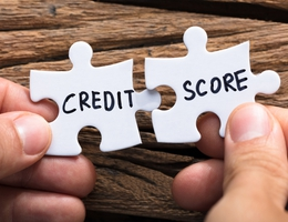 Credit score hero image