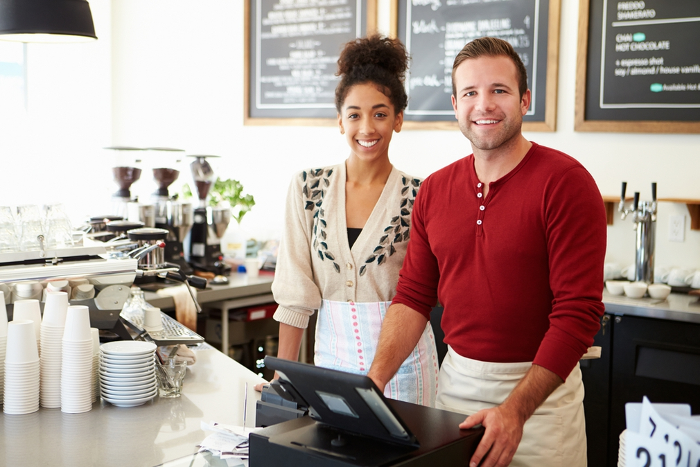 Owning and working in a cafe
