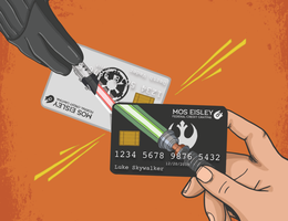 Star Wars credit card