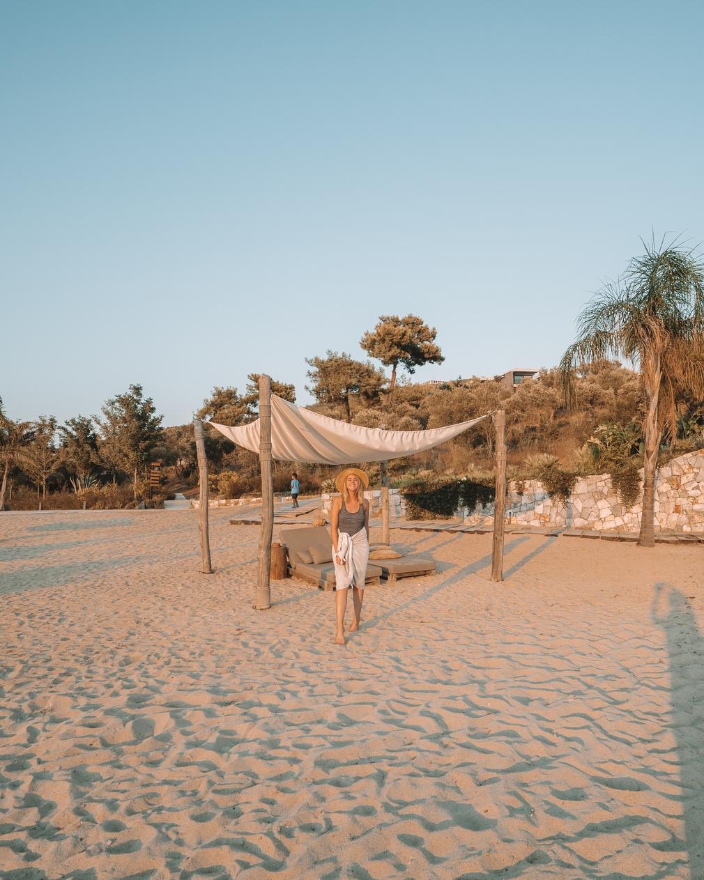 Six Senses Kaplankaya private beach