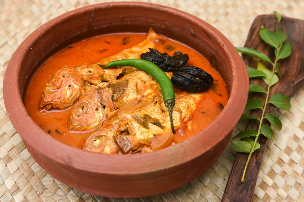 Sour fish curry