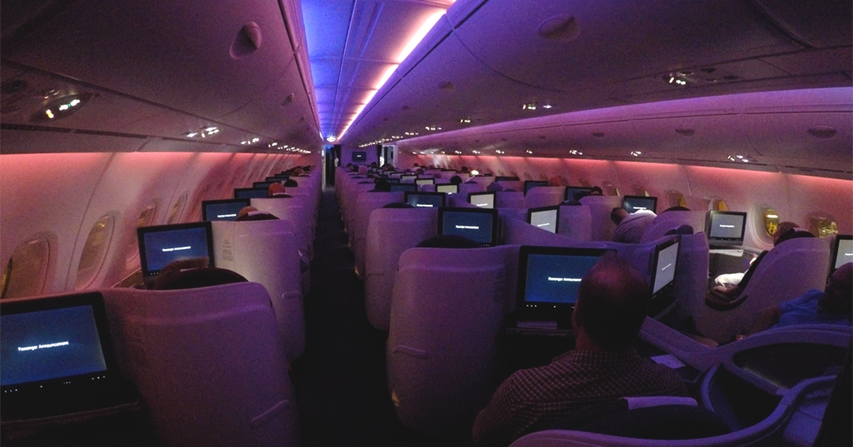 Flight Review: Qatar Airways Business Class A380 SYD - DOH ...