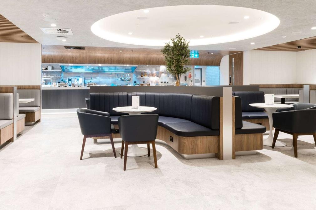 Sydney International Airport American Express Lounge