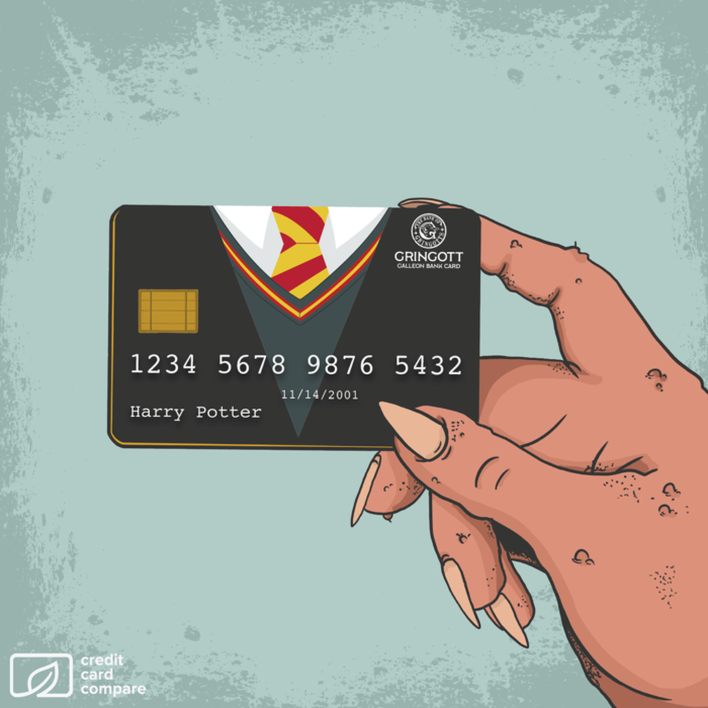 Harry Potter credit card