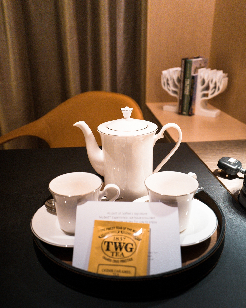 Sofitel City Centre Singapore Tea set
