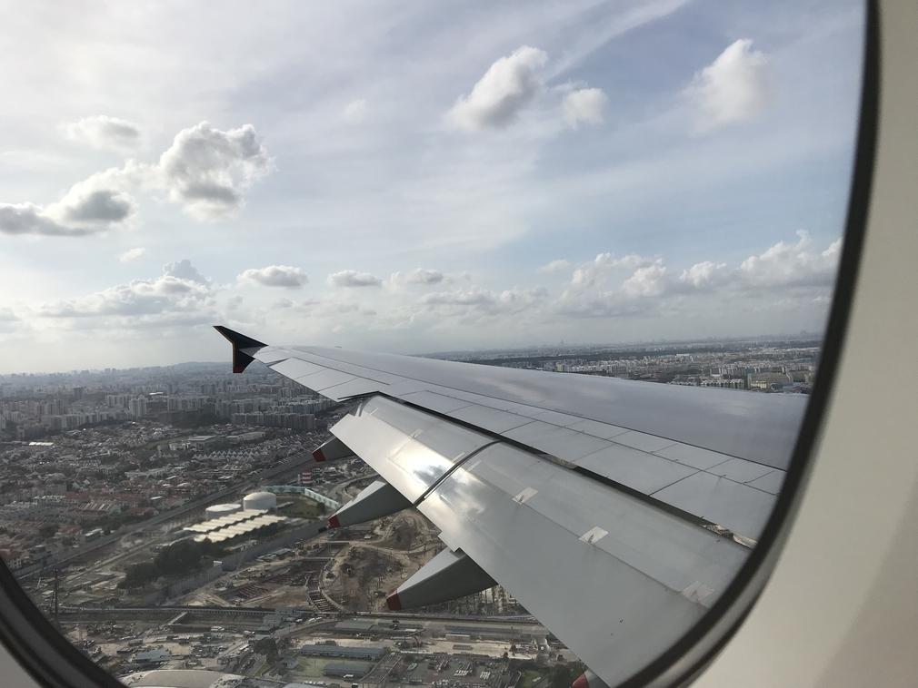 SQ232 landing