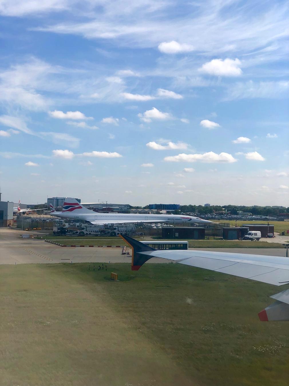 Historic British Airways Concorde