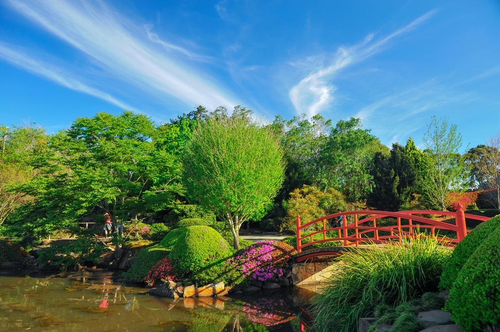 Ju Raku En Japanese Garden, Toowoomba