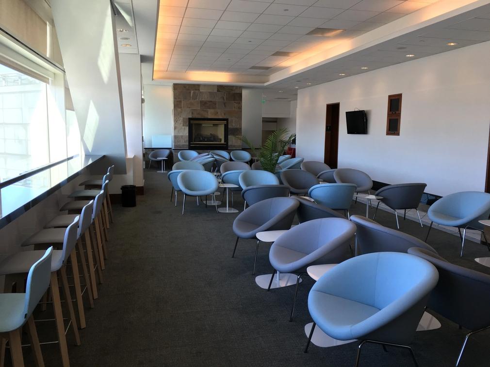 Air France KLM Lounge at San Francisco International Airport
