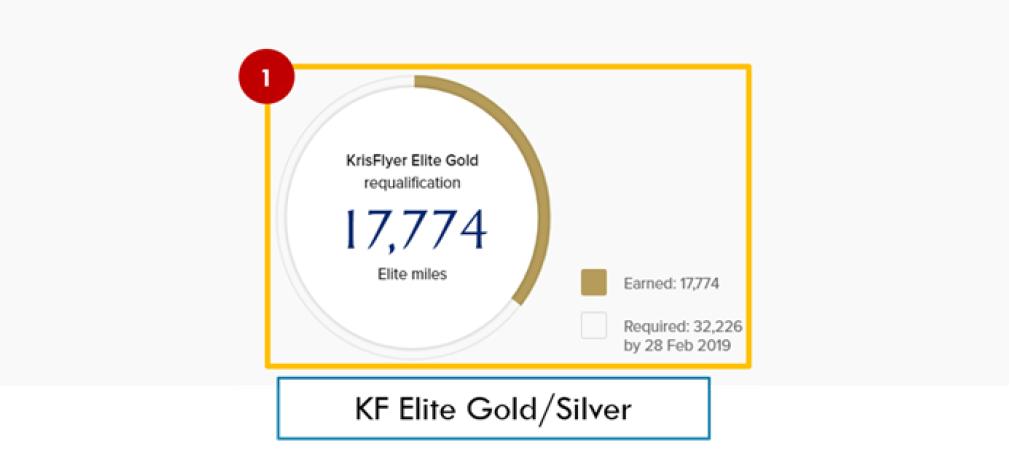 Elite miles Krisflyer