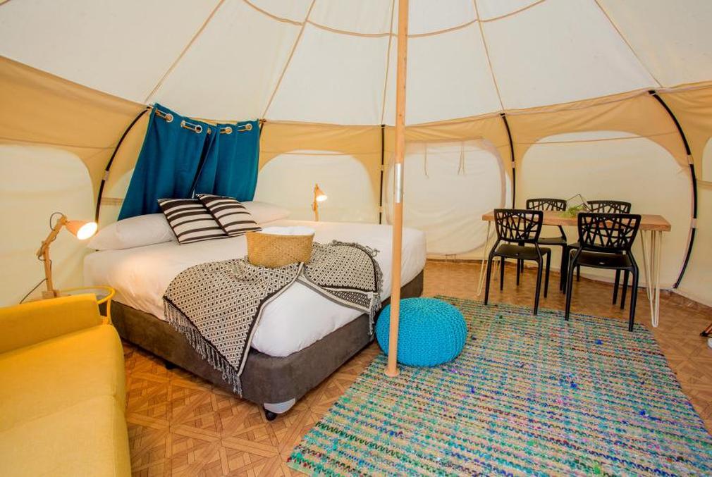 Park Lane glamping tent