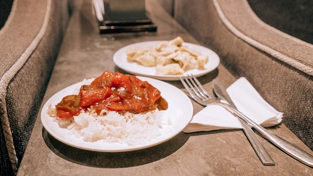 Plaza Premium Lounge food