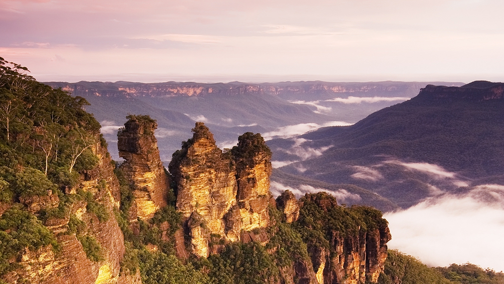 3 Sisters in blue mountains