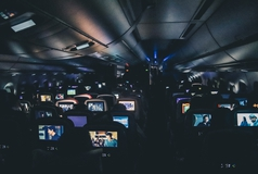 Airplane screens