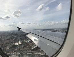 SQ232 landing shot