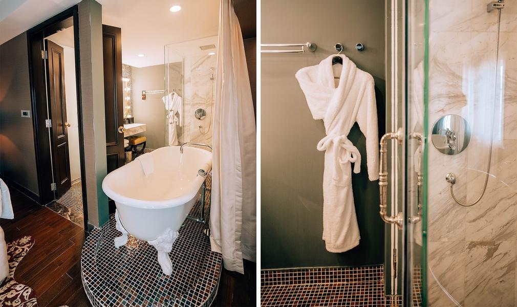 Amazing Hotel de l'Opera Hanoi bathroom