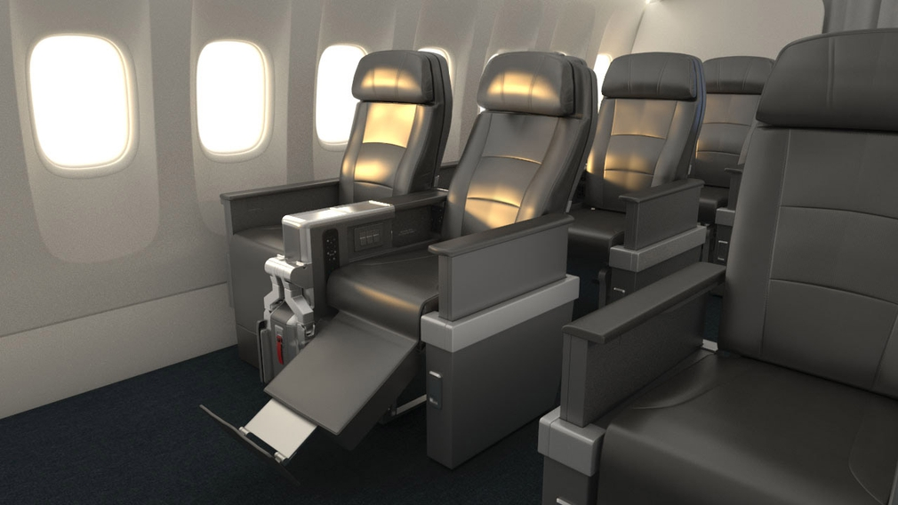American Airlines Premium Economy seat