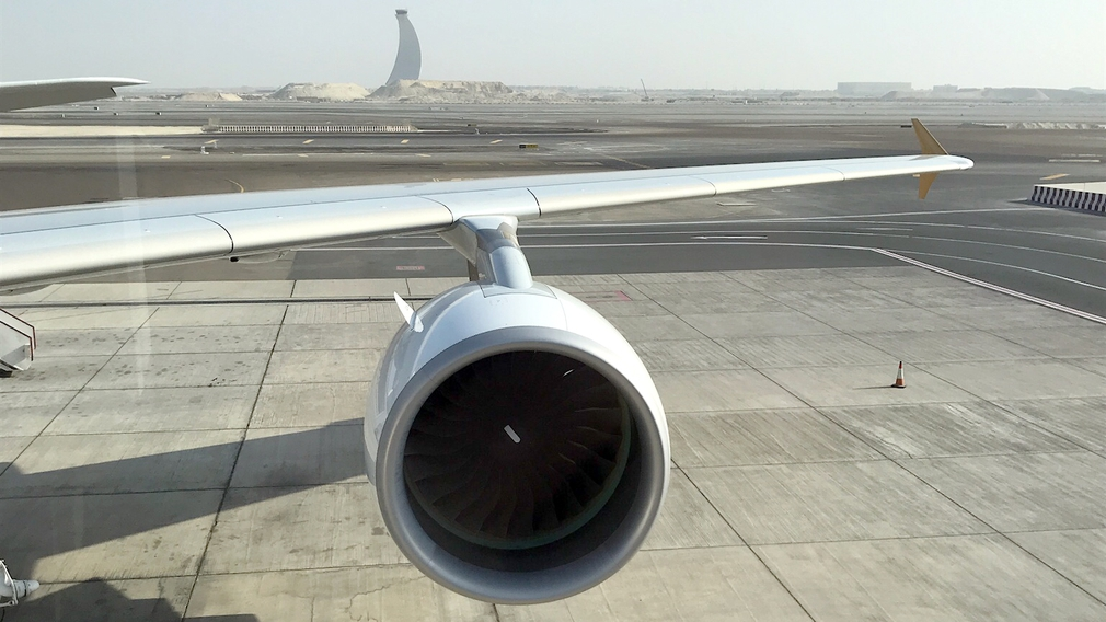 A380 massive engine size is still impressive