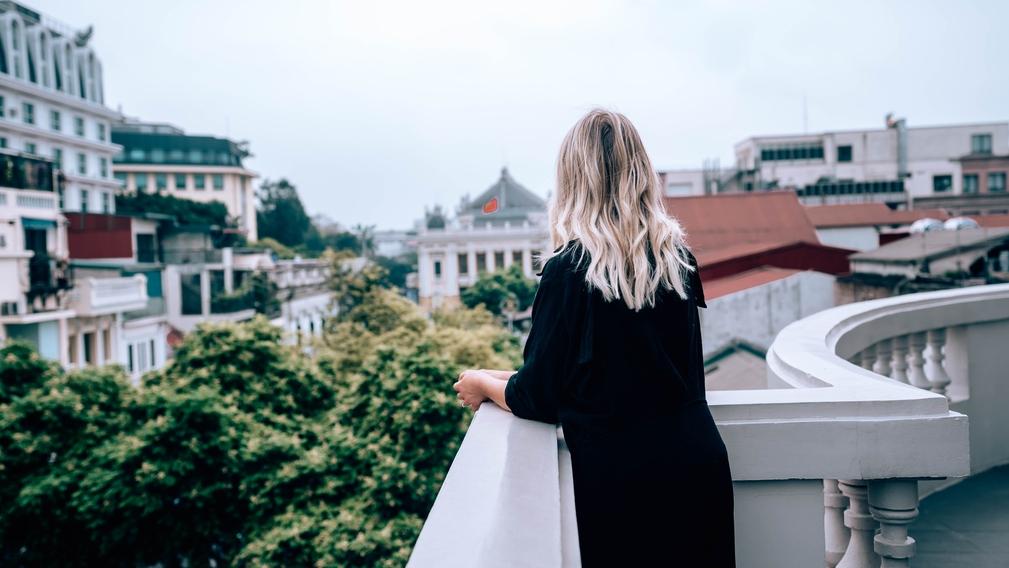 View of the city, Hanoi