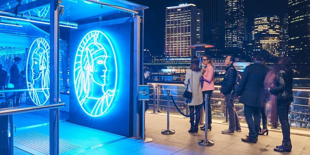 American Express Lounge Vivid Sydney