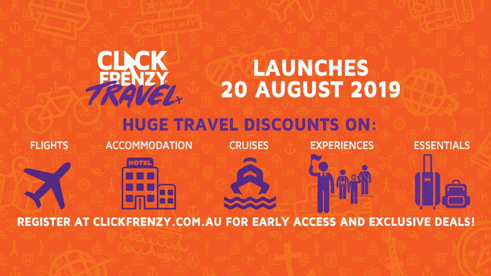 Click Frenzy Travel 2019 announcement