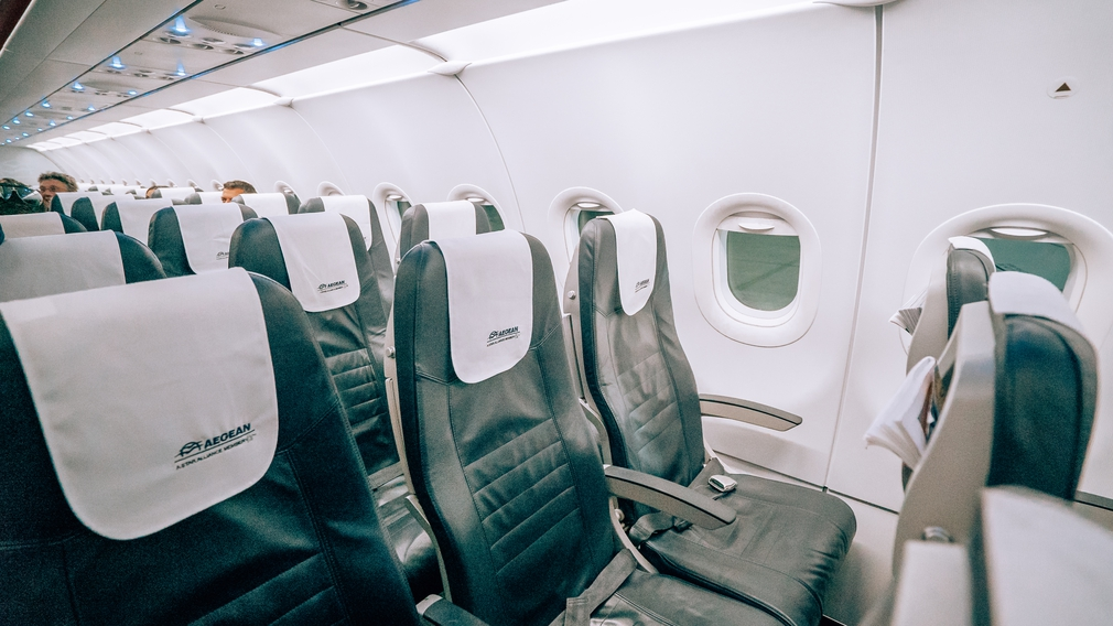 Aegean airlines seats