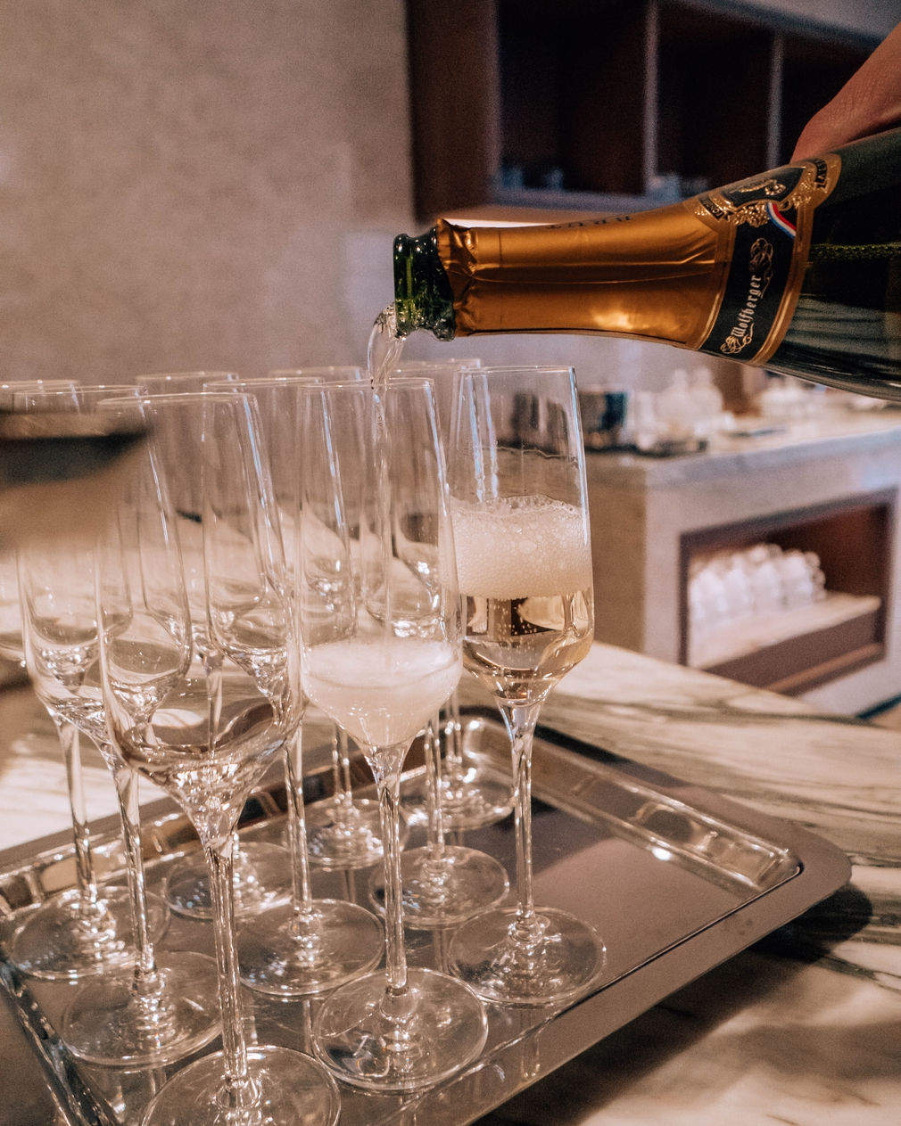 Signiel Seoul Bar 81 has the largest collection of champagne in South Korea