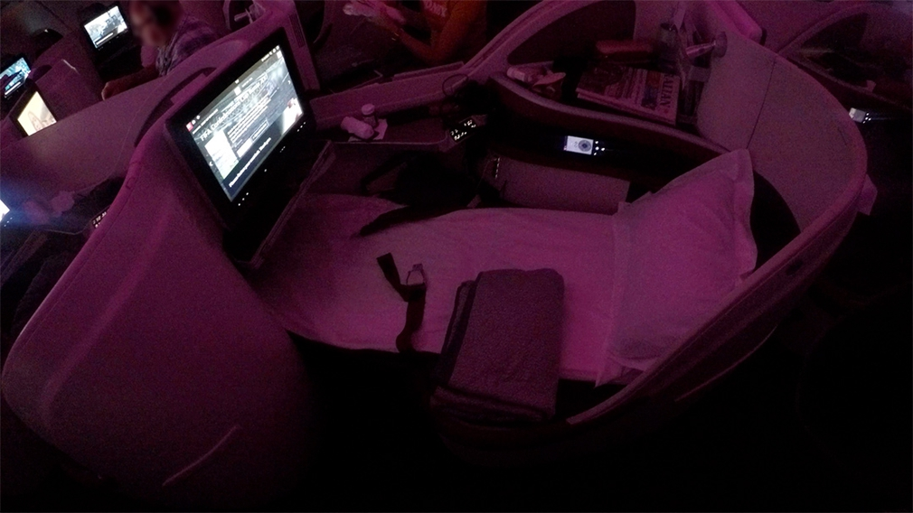 Qatar Business Flat Bed