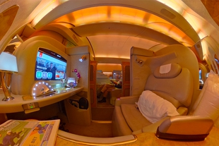Emirates First Class Suite 360 VR
