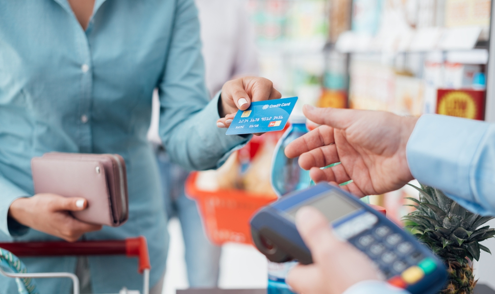 Making a payment with credit card